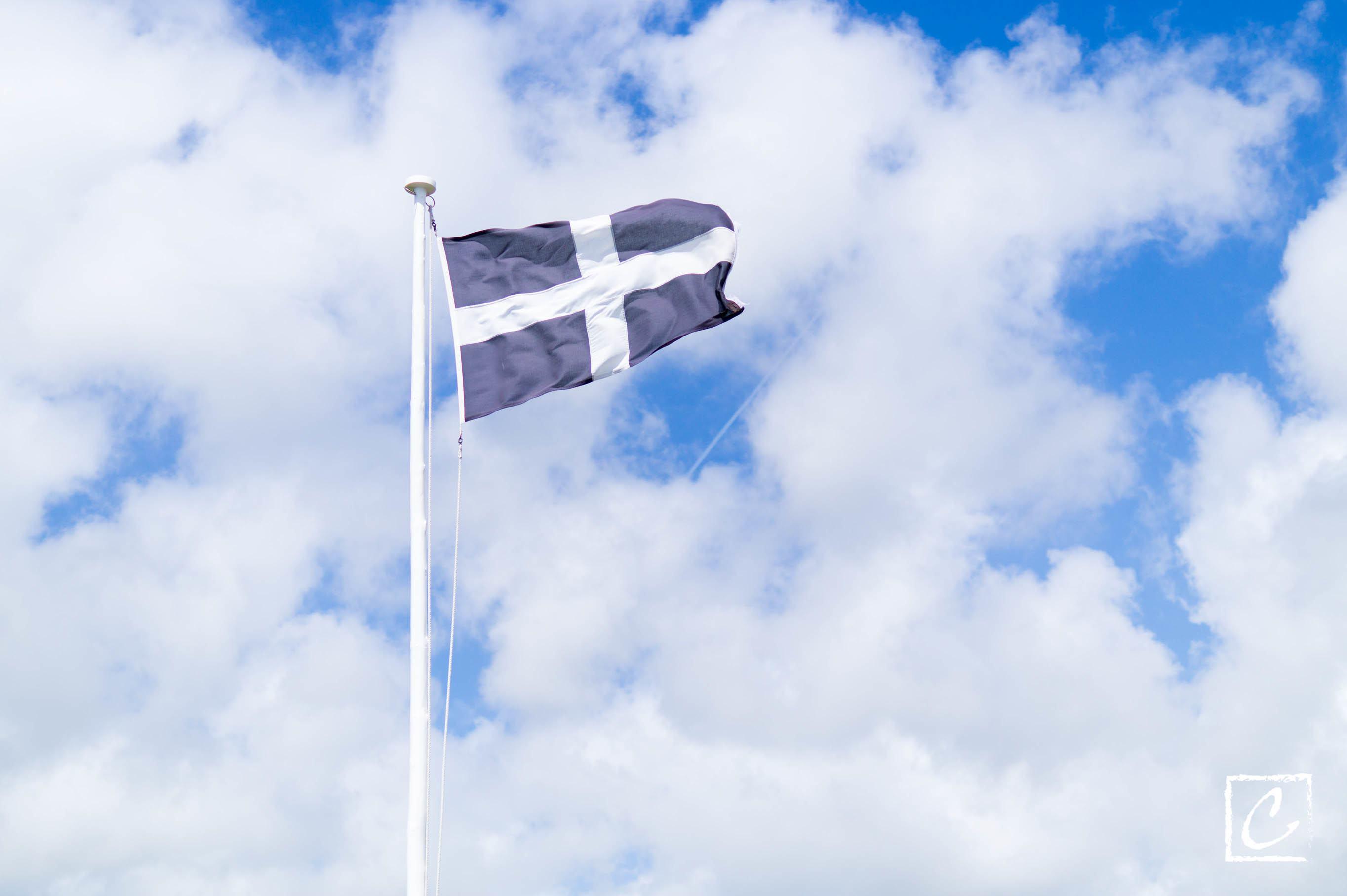 康沃尔郡郡旗